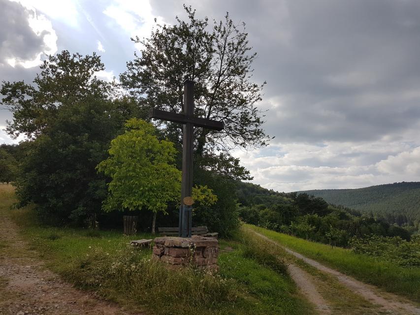 Wegekreuz bei Rüdenau