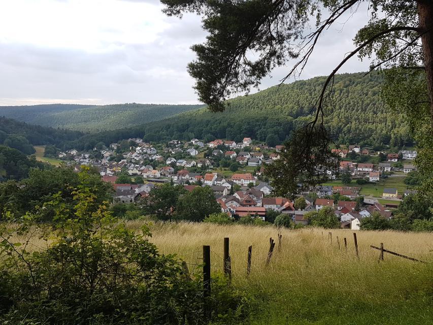 Panoramablick auf Rüdenau