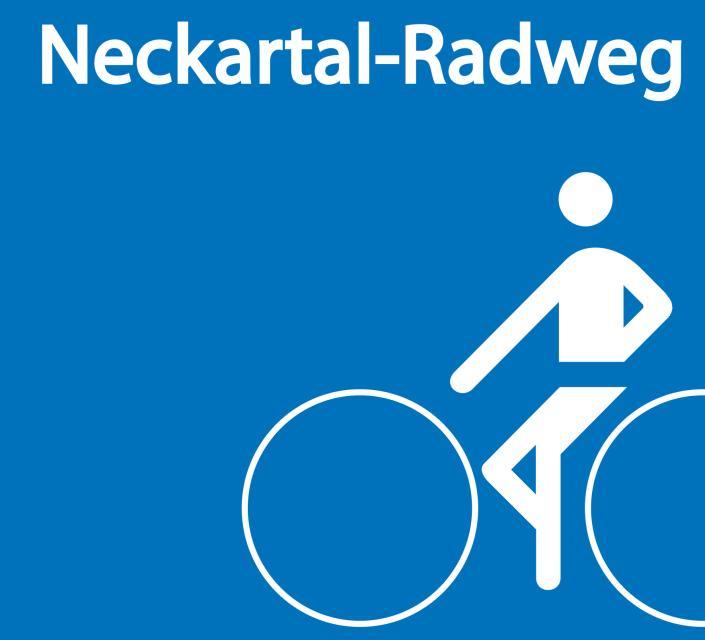 Beschilderung Neckartal-Radweg