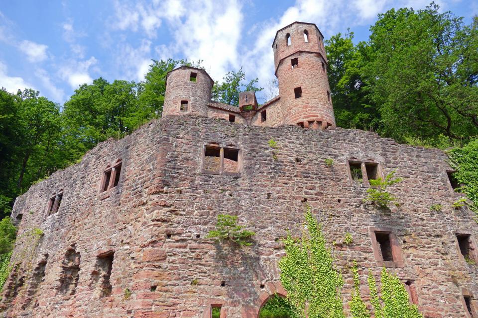 Neckarsteinach Burg Schadeck