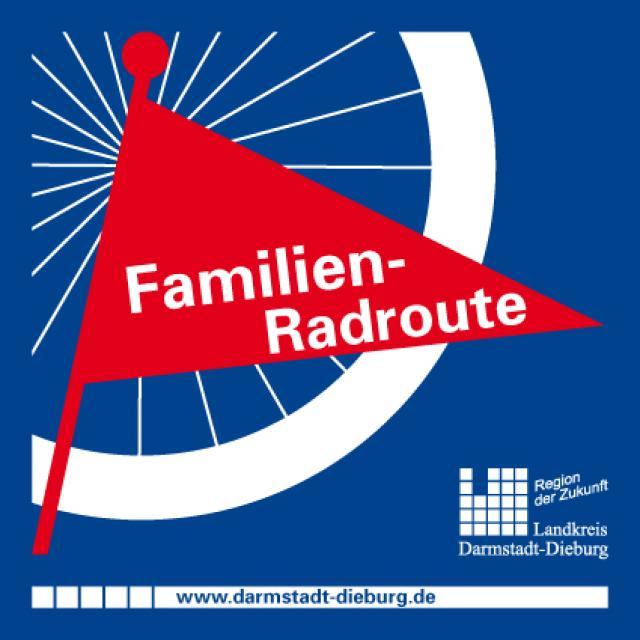 Beschilderung Familien-Radroute