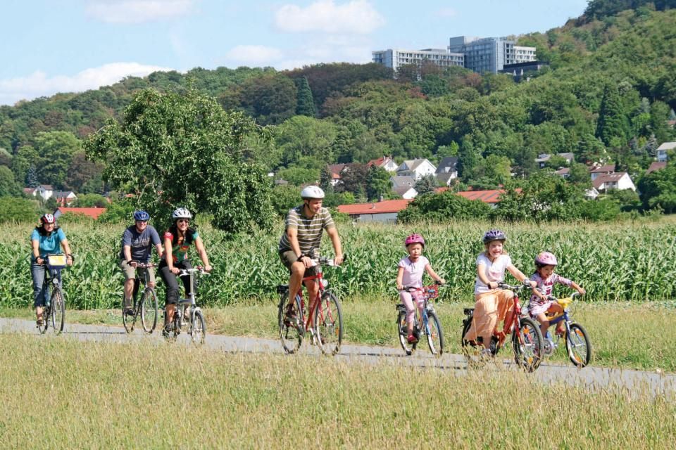 Familien-Radtour Landkreis Darmstadt-Dieburg