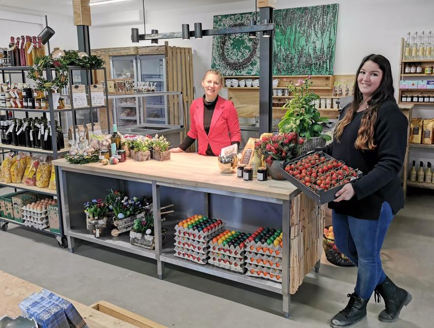Landlädchen Strauß in Reinheim-Georgenhausen führt frische Lebensmittel