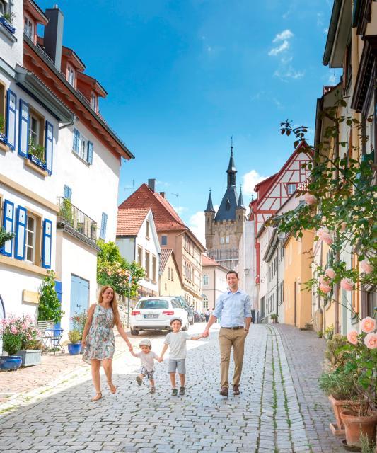 Familienausflug nach Bad Wimpfen