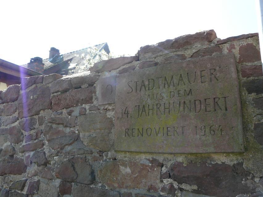 Reste Stadtmauer