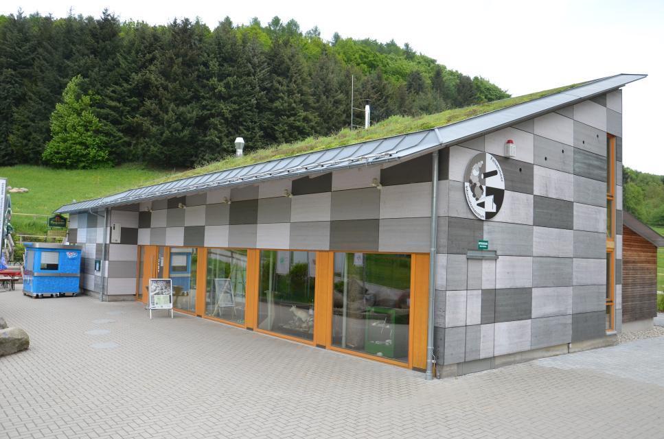 Das Informationszentrum des Felsenmeers