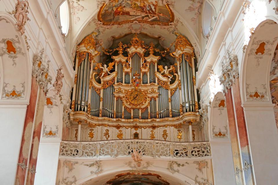 Orgel Abtei Amorbach