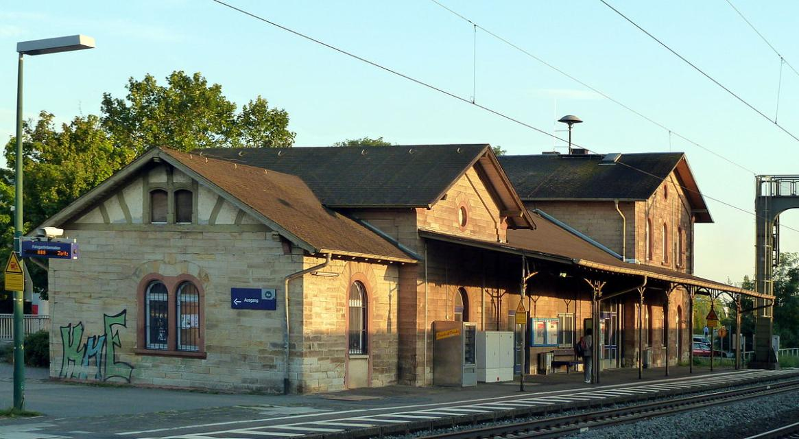 Bickenbacher Bahnhof