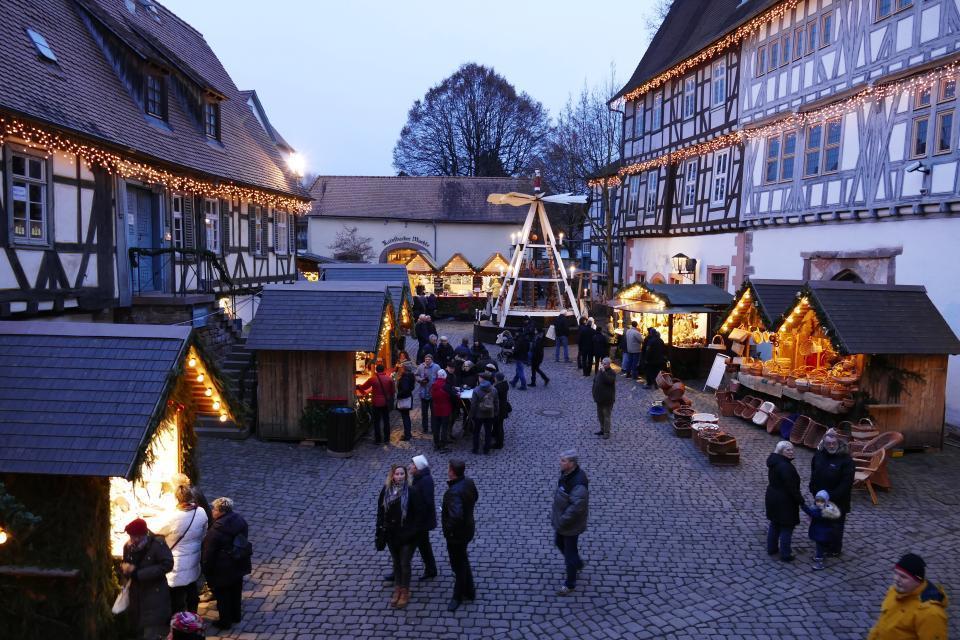 Michelstädter Weihnachtsmarkt - Kellereihof