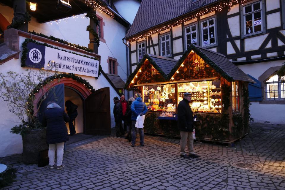 Michelstädter Weihnachtsmarkt im Schenkenkeller