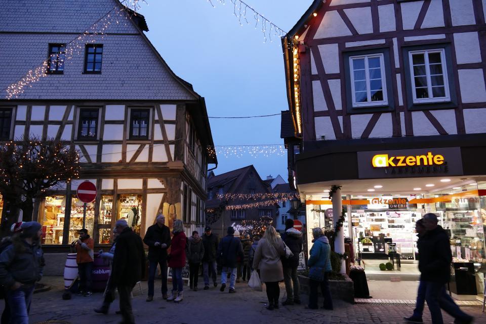 Michelstädter Weihnachtsmarkt in der historischen Altstadt