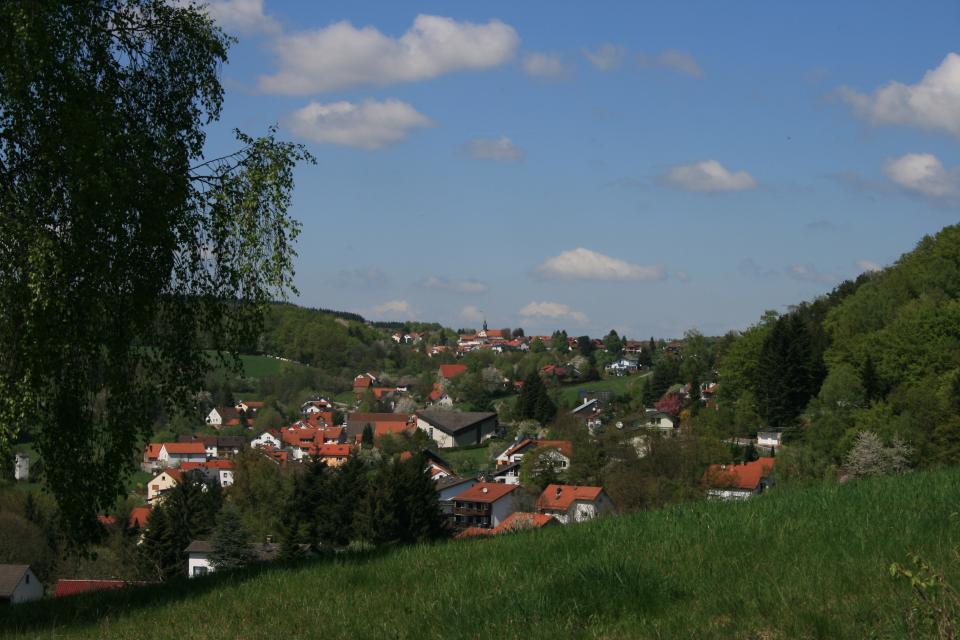 Blick auf Ober- und Unter-Abtsteinach