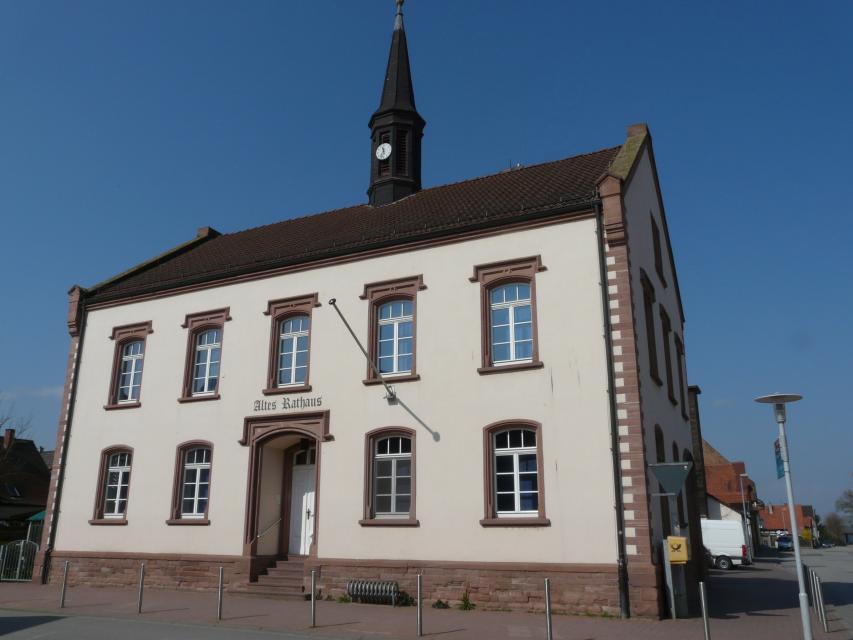 Altes Rathaus der Gemeinde Biblis