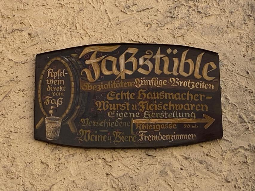 Faßstüble Amorbach