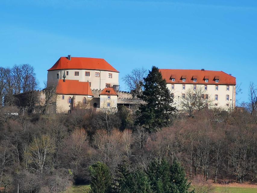 Blick auf Schloss Reichenberg