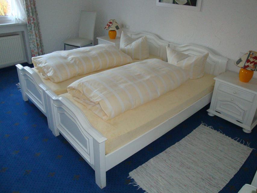 Die Betten im Hotel