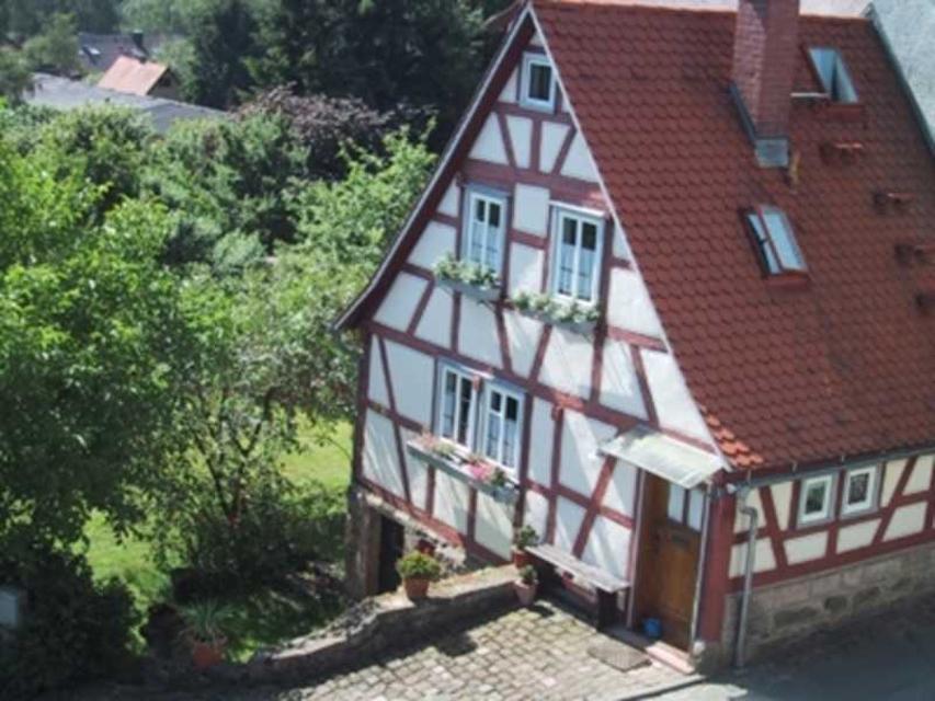 Ein typisches FAchwerkhaus aus dem Odenwald