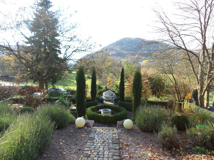 Garten und Aussicht
