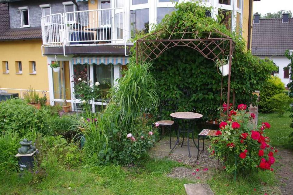 Die gemütliche Sitzecke im Garten