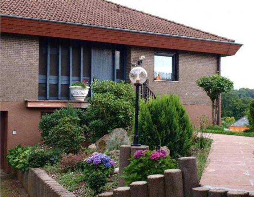 Der Eingangsbereich des Ferienhauses