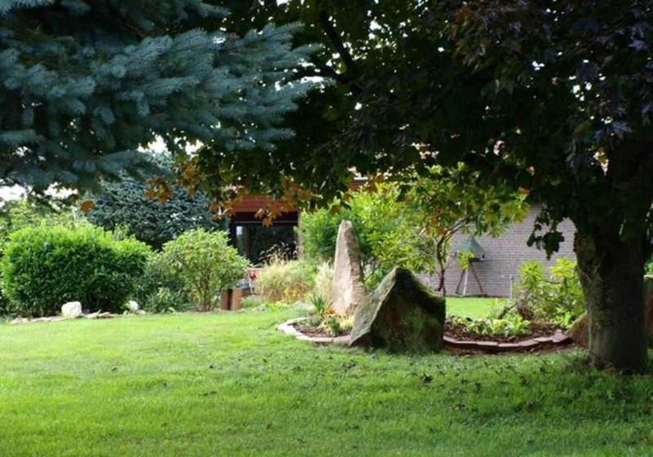 Ein kleiner Einblick in den schön angelegten Garten
