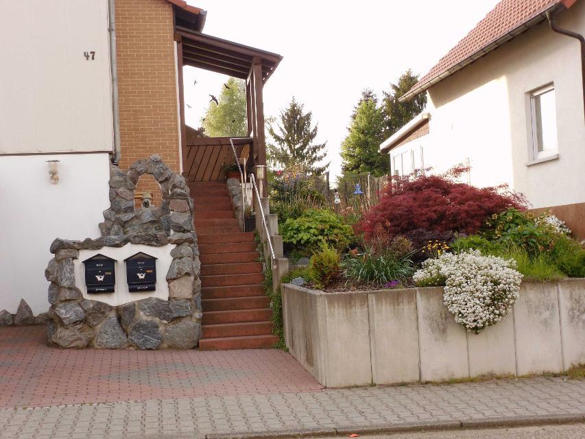 Eingangsbereich zum Haus