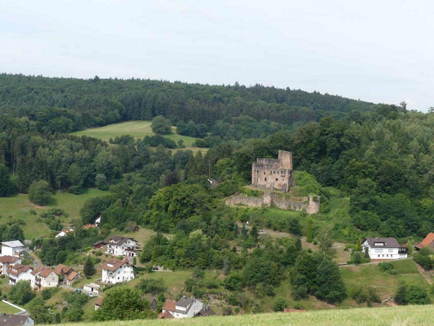 Burgruine Freienstein in Gammelsbach