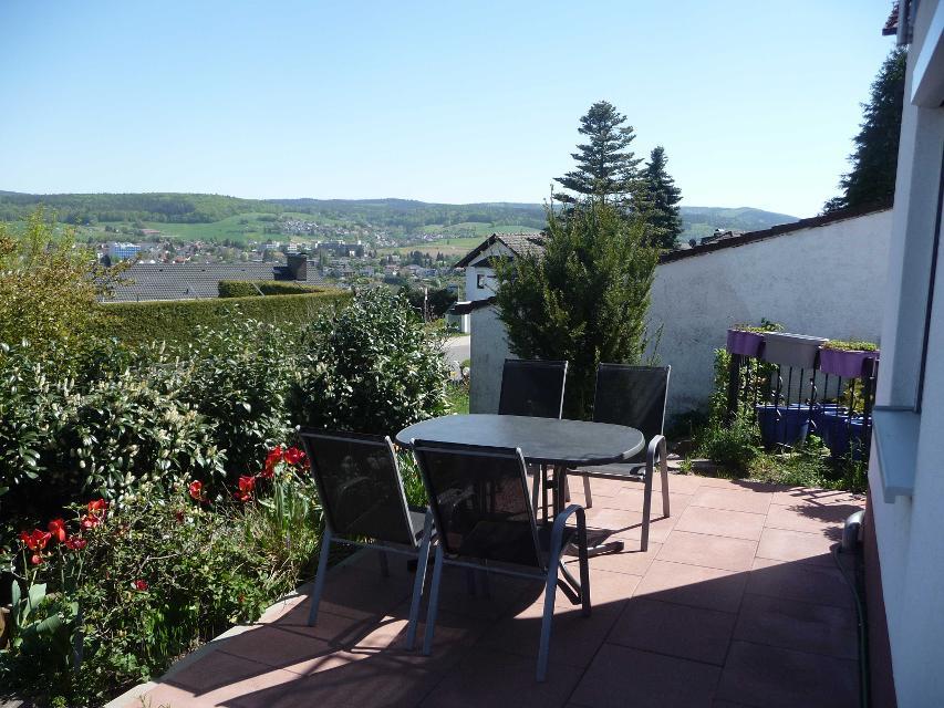 Terrasse mit Panoramablick