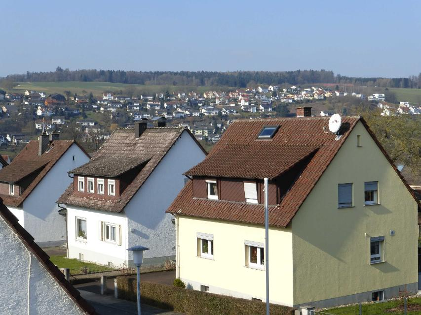 Ausblick über Erbach