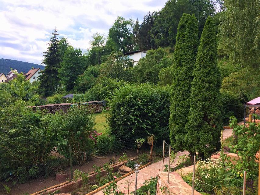 Garten mit Aussicht