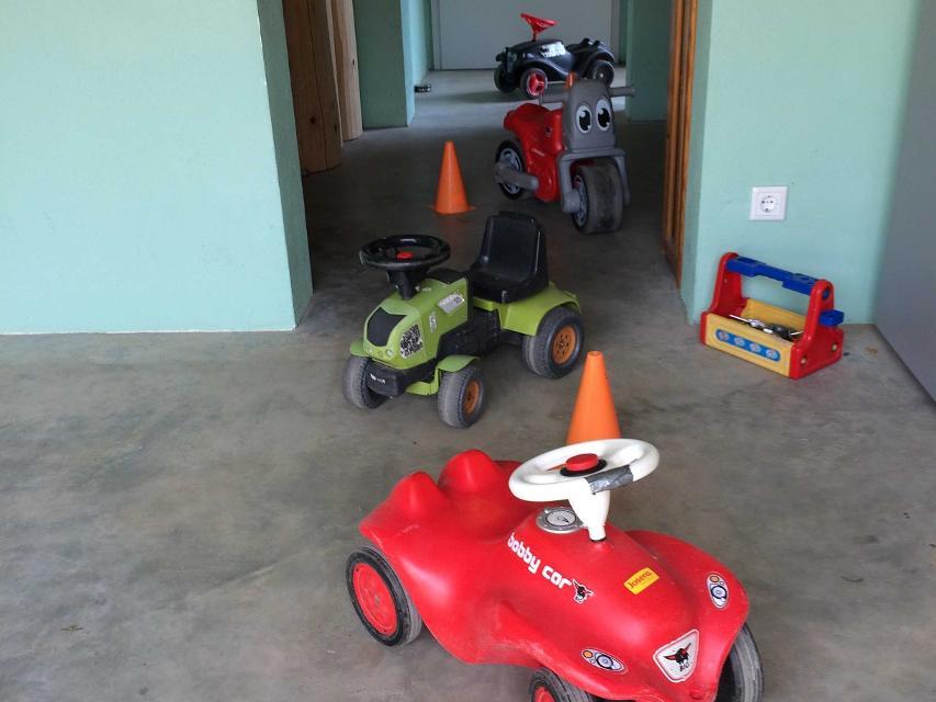 Fuhrpark für die Kleinen