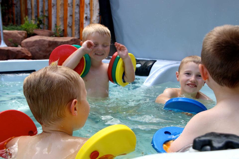 Wasserspiele für Groß und Klein