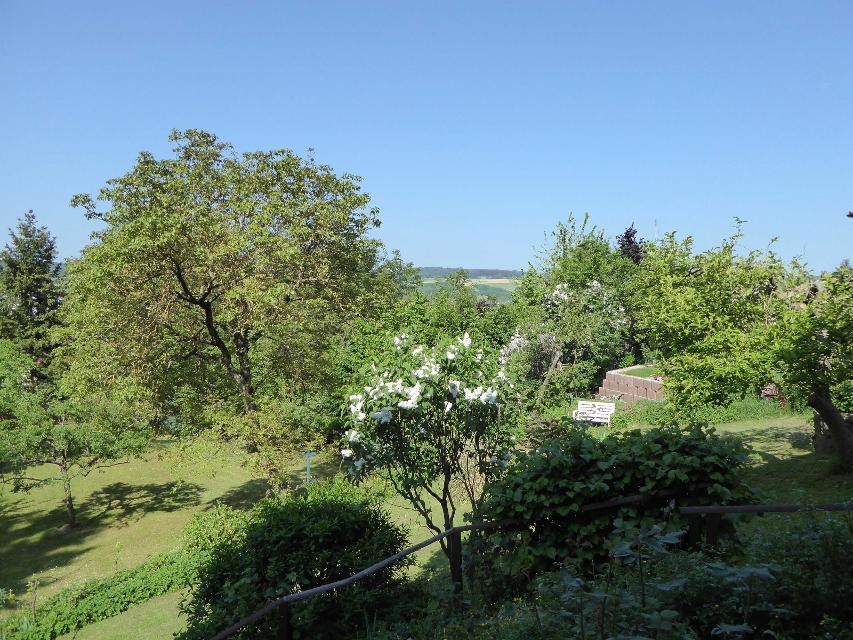 Garten und Ausblick