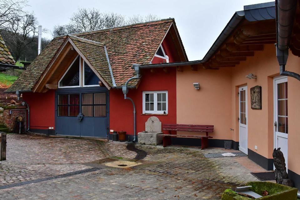 Das Ferienhaus mit ebenerdigen Eingang