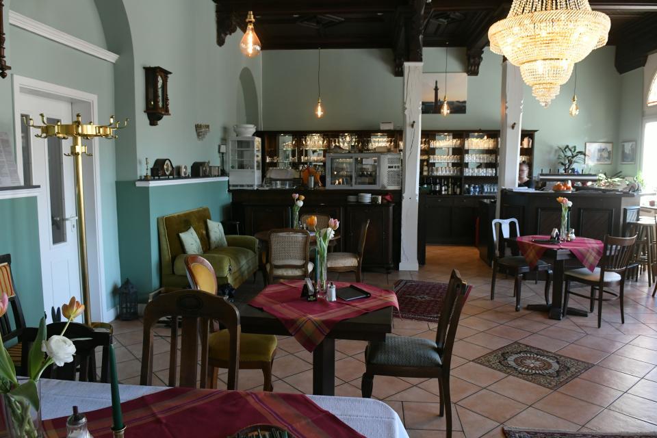 Die Villa Trautheim in Mühltal verwöhnt mit schönem Ambiente und gutem Essen.