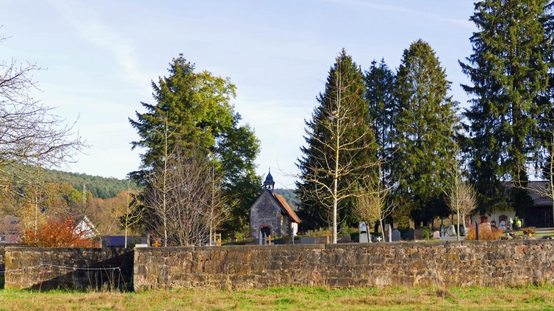 Friedhofskapelle Bad König