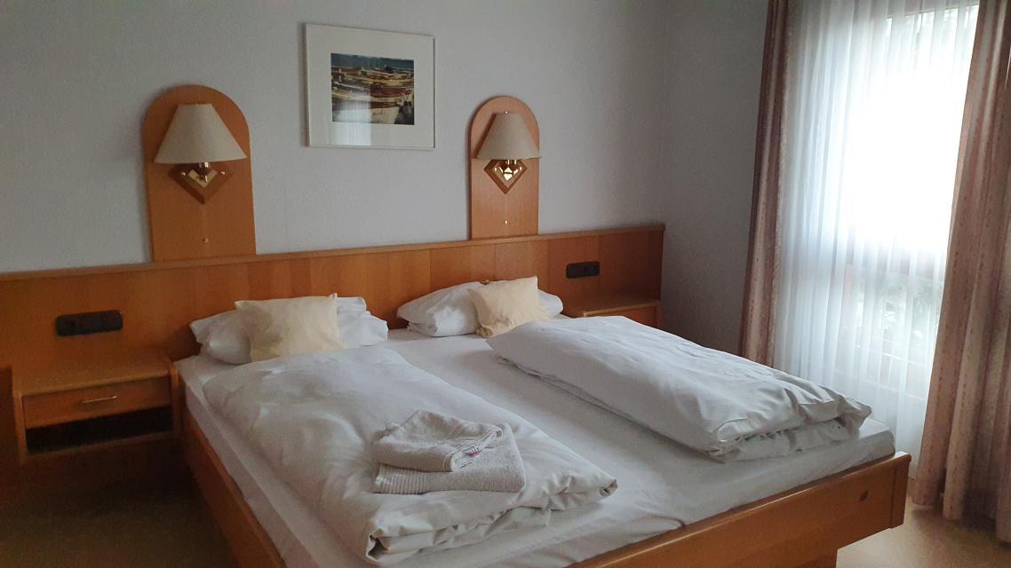 Übernachten, Zum Lamm, Pfungstadt, Doppelzimmer