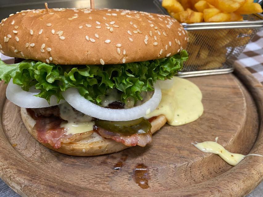 Kochkäs' Burger, Zum Lamm, Pfungstadt, Eschollbrücken