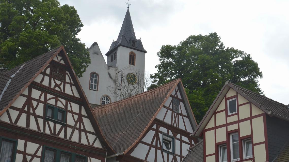 Evangelische Bergkirche in Zwingenberg