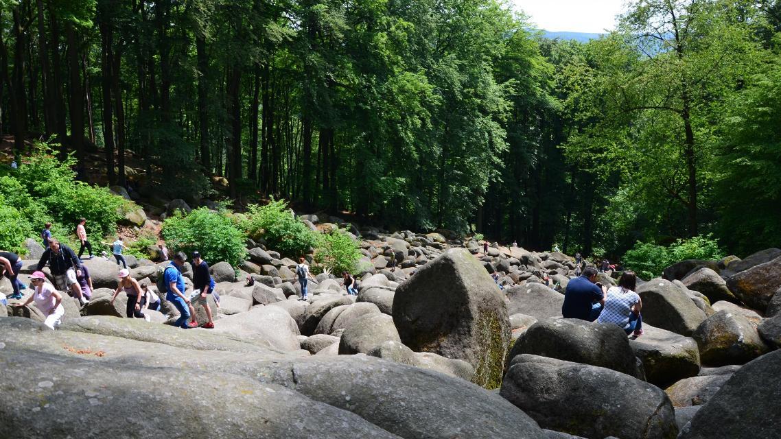 Felsenmeer im Lautertaler Ortsteil Reichenbach