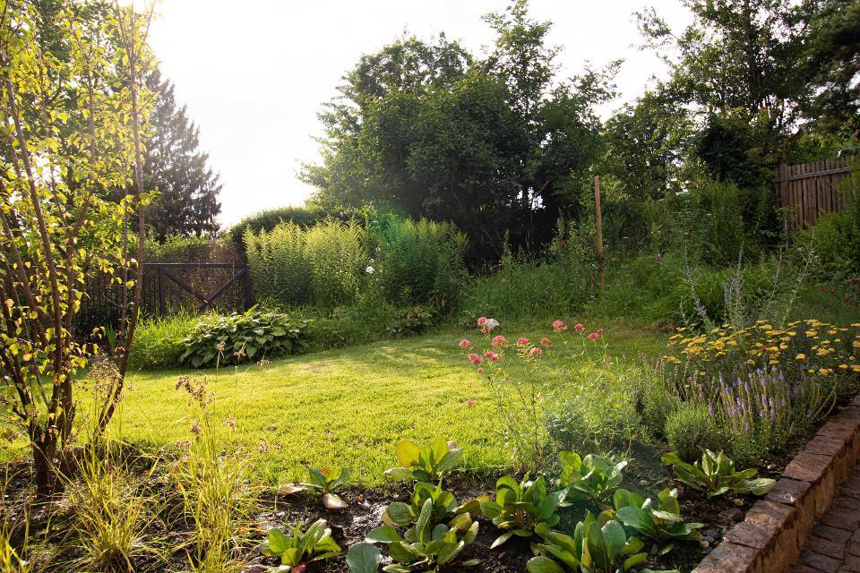 Großzügiger Garten