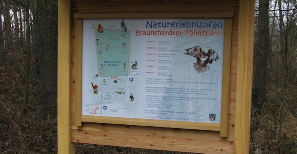 Naturerlebnispfad Braunshardter Tännchen