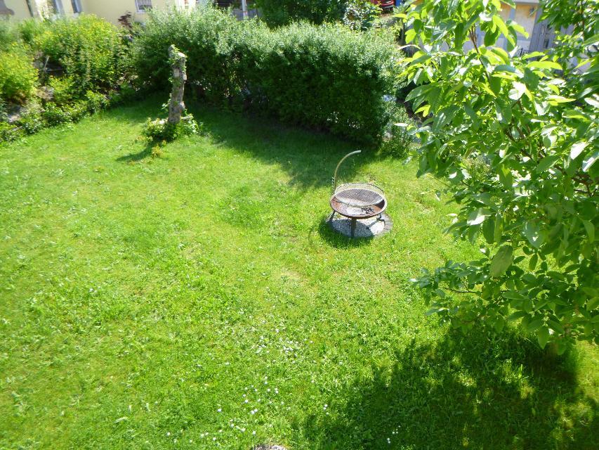 Garten mit Grillmöglichkeit