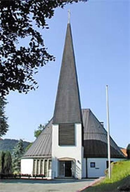 Sankt Johannes Kirche Bodenmais