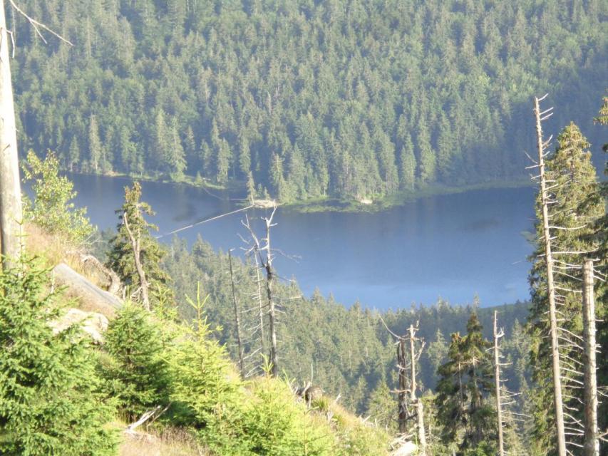 2 Gipfel - 2 Seen