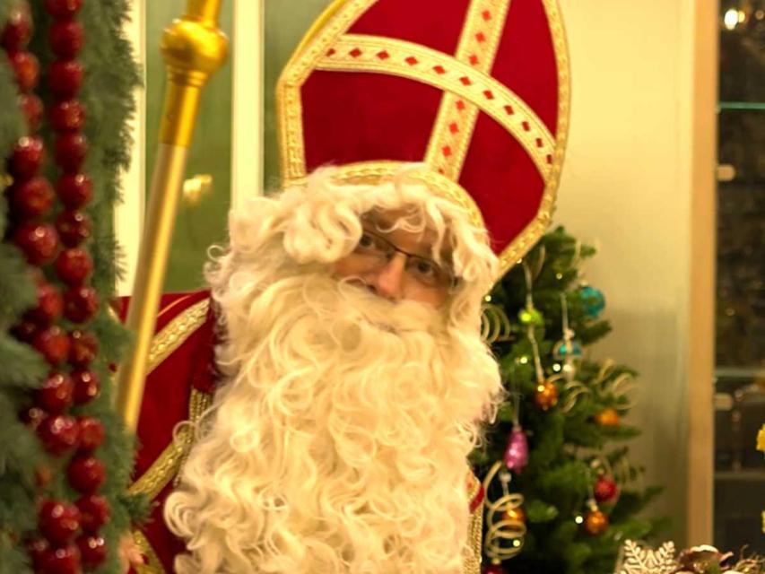 Nikolaus im Glasparadies