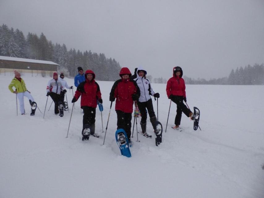 Familien-Schneeschuh- Tour