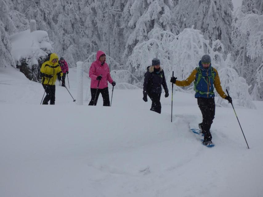 Schneeschuh- Waldhirten Tour