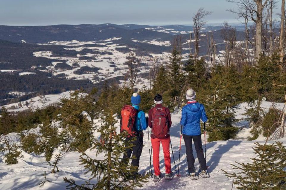 Geführte Schneeschuhtour