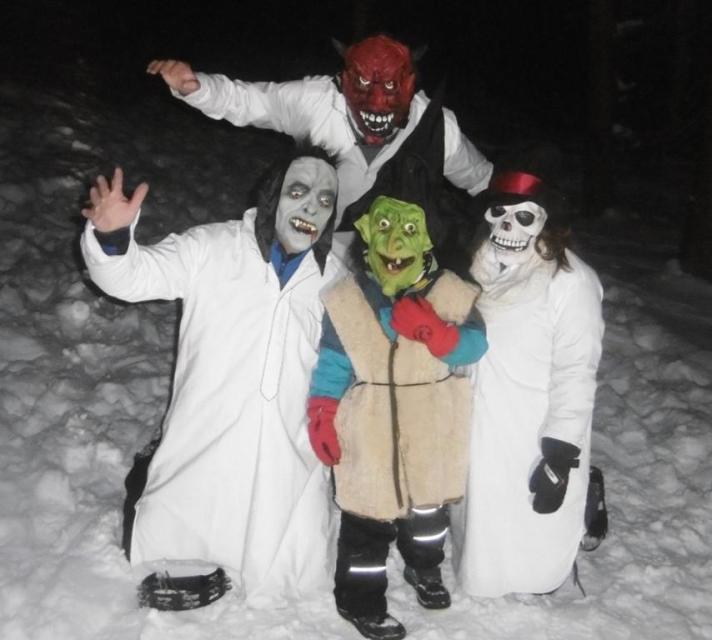 Schnee-Geisterwanderung für Kinder!